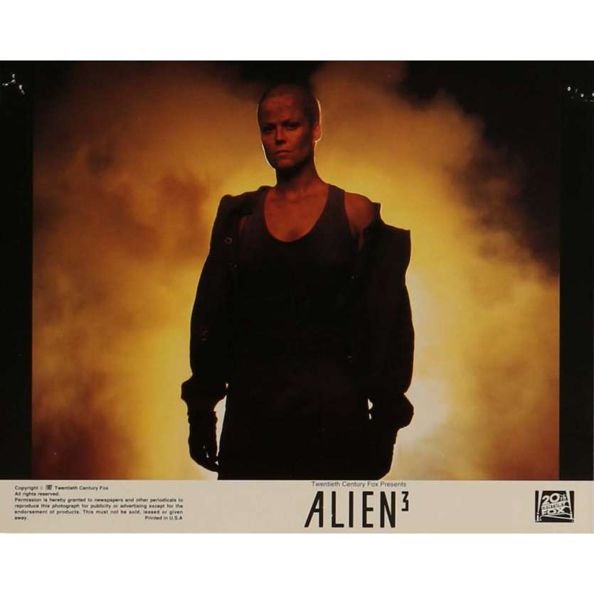 ALIEN 3 Lobby Card N5 8x10 in. - 1992 - David Fincher, Sigourney Weaver