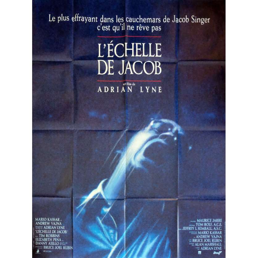 JACOB'S LADDER Movie Poster 47x63 in. - 1990 - Adrian Lyne, Tim Robbins