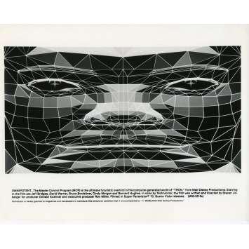 TRON Photo de presse N11 20x25 cm - 1982 - Jeff Bridges, Steven Lisberger