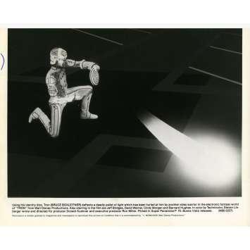 TRON Photo de presse N10 20x25 cm - 1982 - Jeff Bridges, Steven Lisberger
