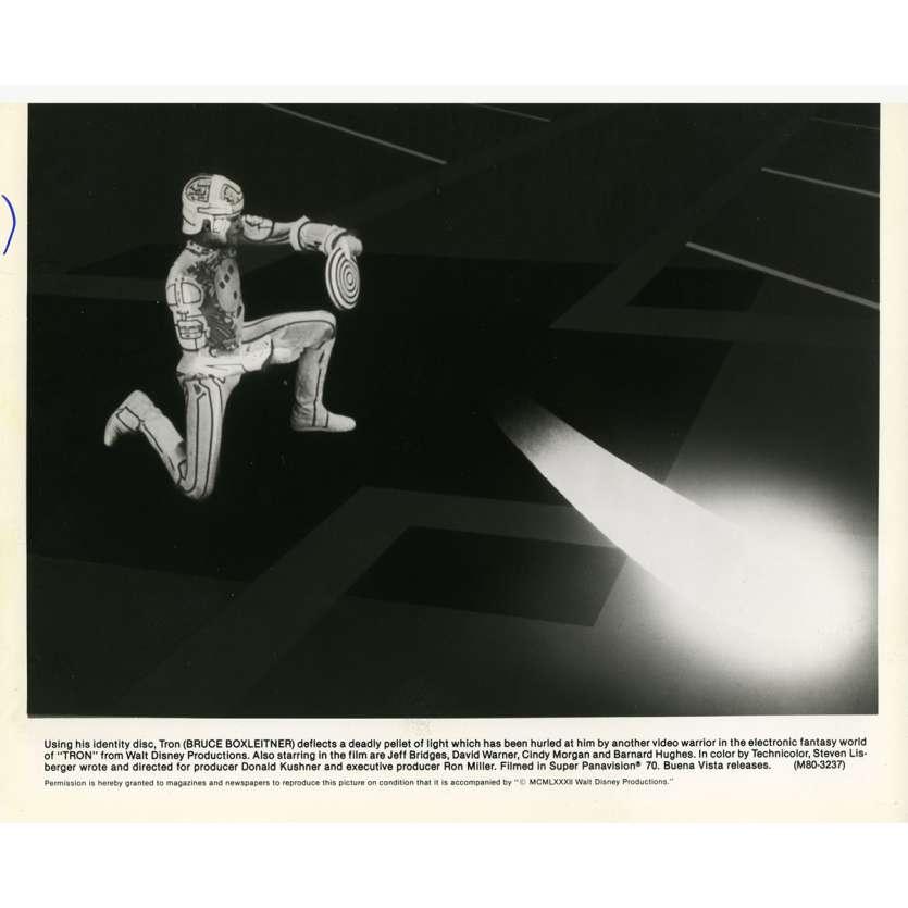 TRON Movie Still N10 8x10 in. - 1982 - Steven Lisberger, Jeff Bridges