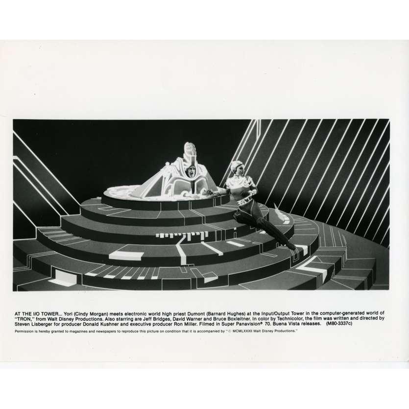 TRON Photo de presse N06 20x25 cm - 1982 - Jeff Bridges, Steven Lisberger