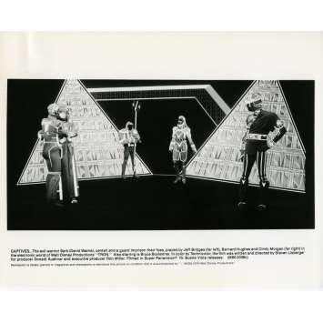 TRON Photo de presse N03 20x25 cm - 1982 - Jeff Bridges, Steven Lisberger