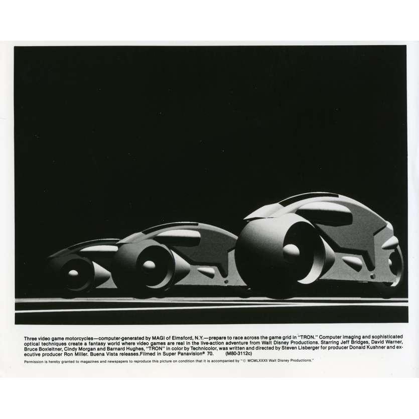 TRON Photo de presse N01 20x25 cm - 1982 - Jeff Bridges, Steven Lisberger