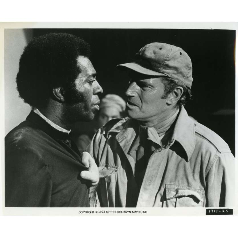 SOLEIL VERT Photo de presse N09 20x25 cm - 1973 - Charlton Heston, Richard Fleisher