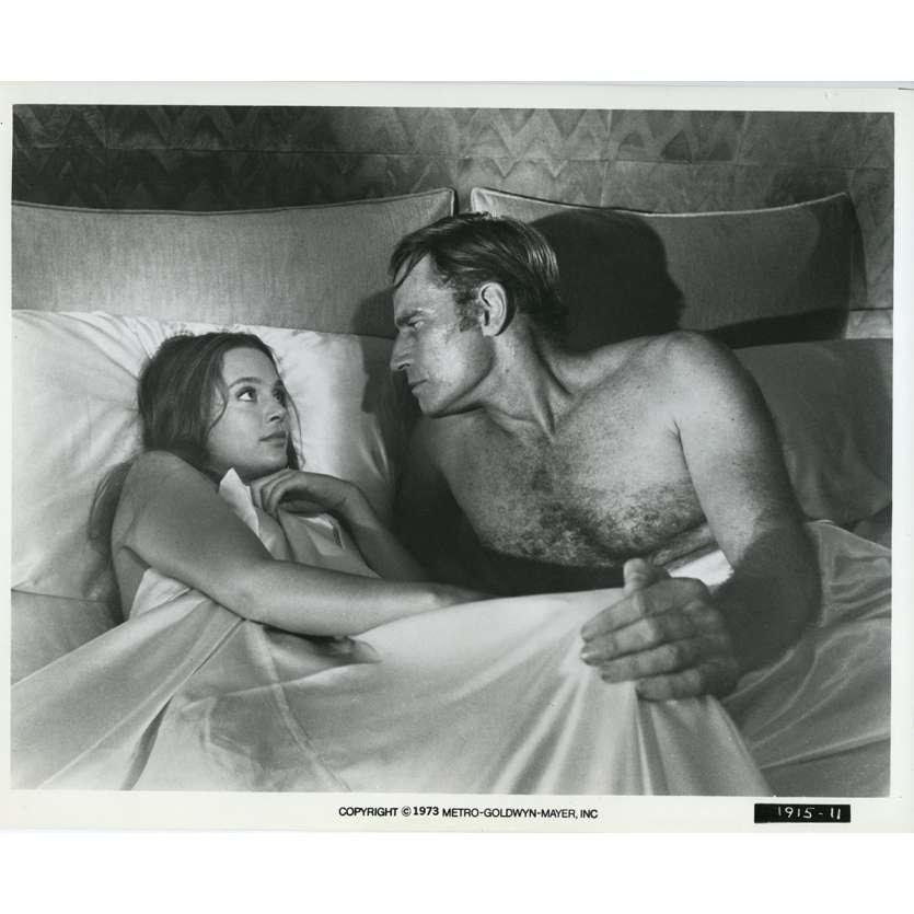 SOLEIL VERT Photo de presse N07 20x25 cm - 1973 - Charlton Heston, Richard Fleisher