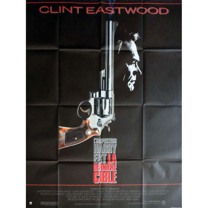 THE DEAD POOL Movie Poster 47x63 in. - 1988 - Buddy Van Horn, Clint Eastwood