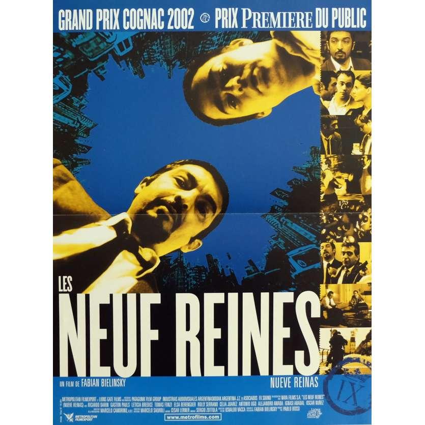 NINE QUEENS Movie Poster 15x21 in. - 2000 - Fabian Bielinsky, Ricardo Darin