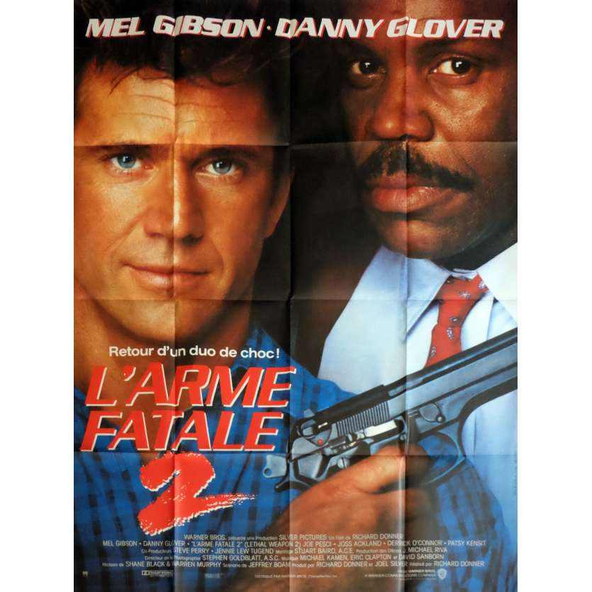 LETHAL WEAPON 2 Movie Poster 47x63 in. - 1989 - Richard Donner, Mel Gibson