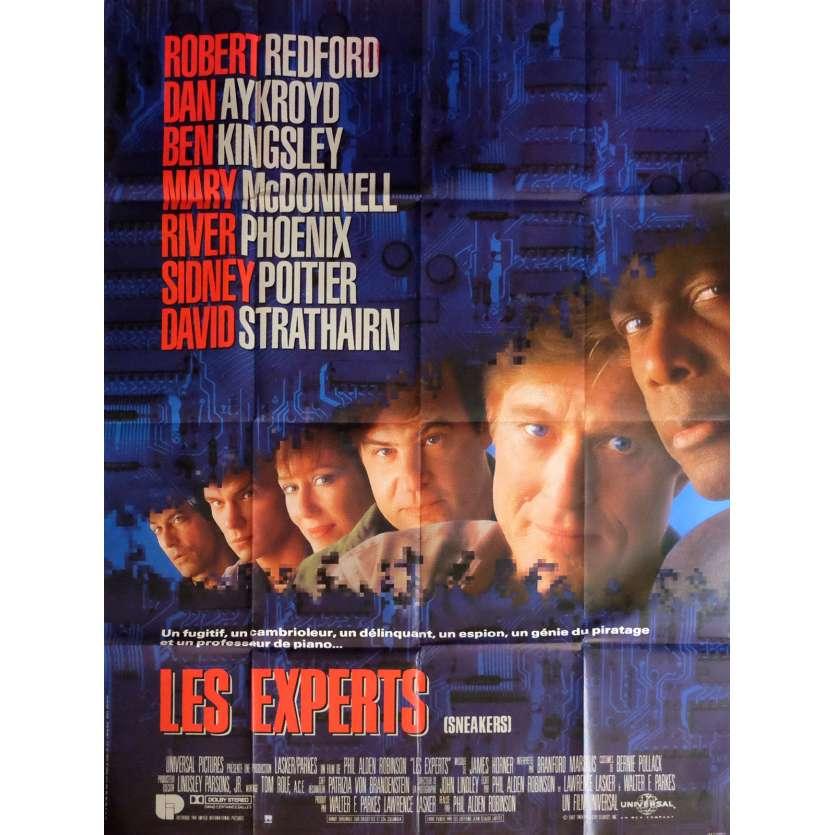 SNEAKERS Movie Poster 47x63 in. - 1992 - Robert Redford, Dan Aycroyd