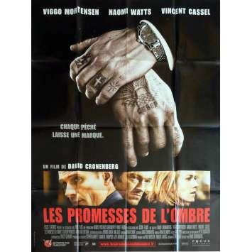 LES PROMESSES DE L'OMBRE Affiche de film 120x160 cm - 2007 - Viggo Mortensen, David Cronenberg