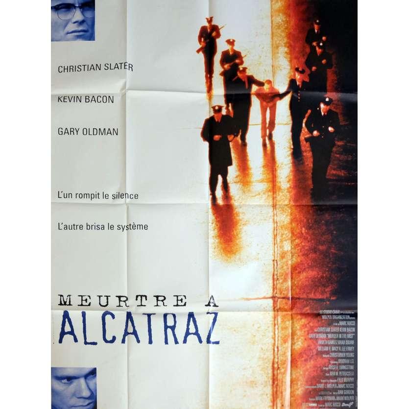 MEURTRE A ALCATRAZ Affiche de film 120x160 cm - 1995 - Kevin Bacon, Marc Rocco