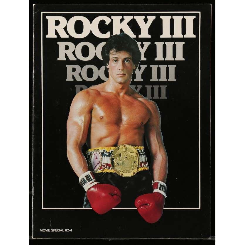 ROCKY 3 Program 24p 9x12 in. - 1982 - Sylvester Stallone, Mr. T