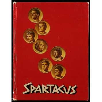 SPARTACUS Program 40p 9x12 in. - 1960 - Stanley Kubrick, Kirk Douglas