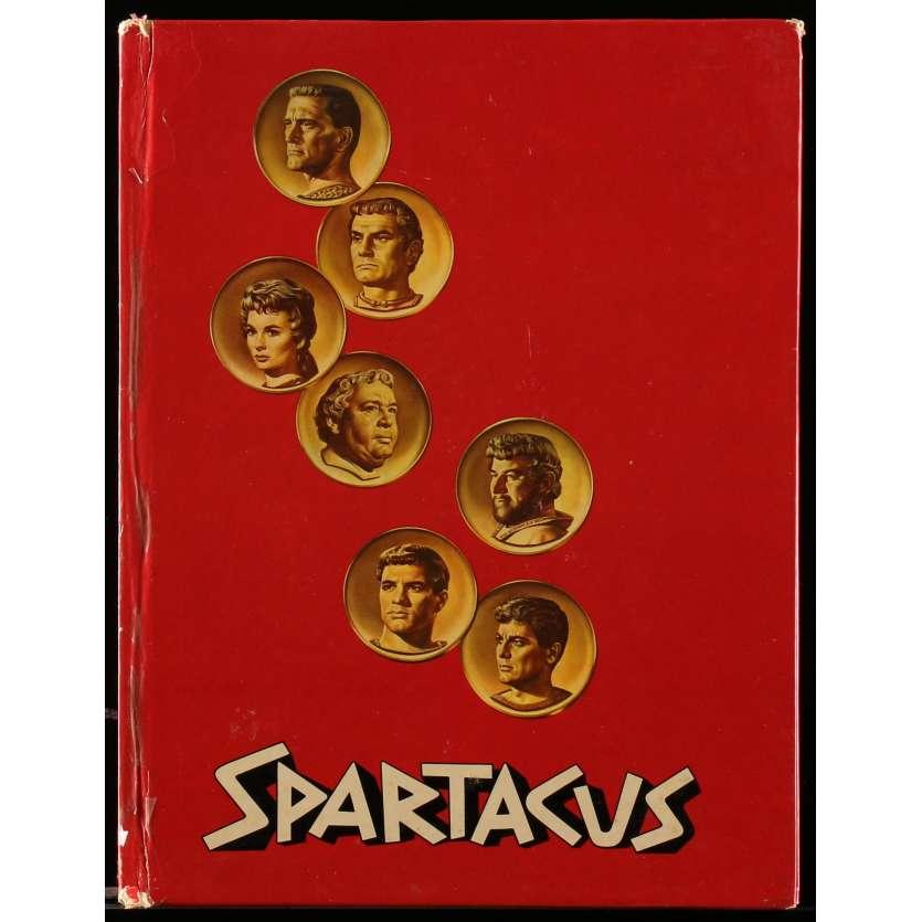 SPARTACUS Programme 40p 21x30 cm - 1960 - Kirk Douglas, Stanley Kubrick