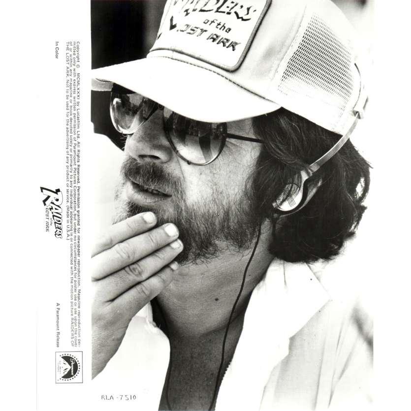 LES AVENTURIERS DE L'ARCHE PERDUE Photo de presse N01 20x25 cm - 1981 - Harrison Ford, Steven Spielberg