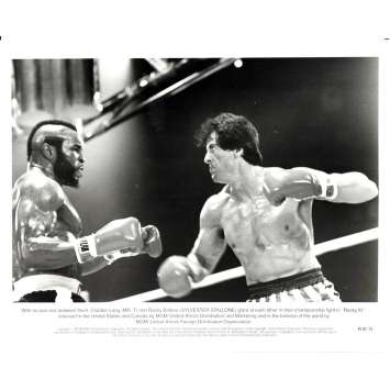 ROCKY 3 Movie Still N15 8x10 in. - 1982 - Sylvester Stallone, Mr. T