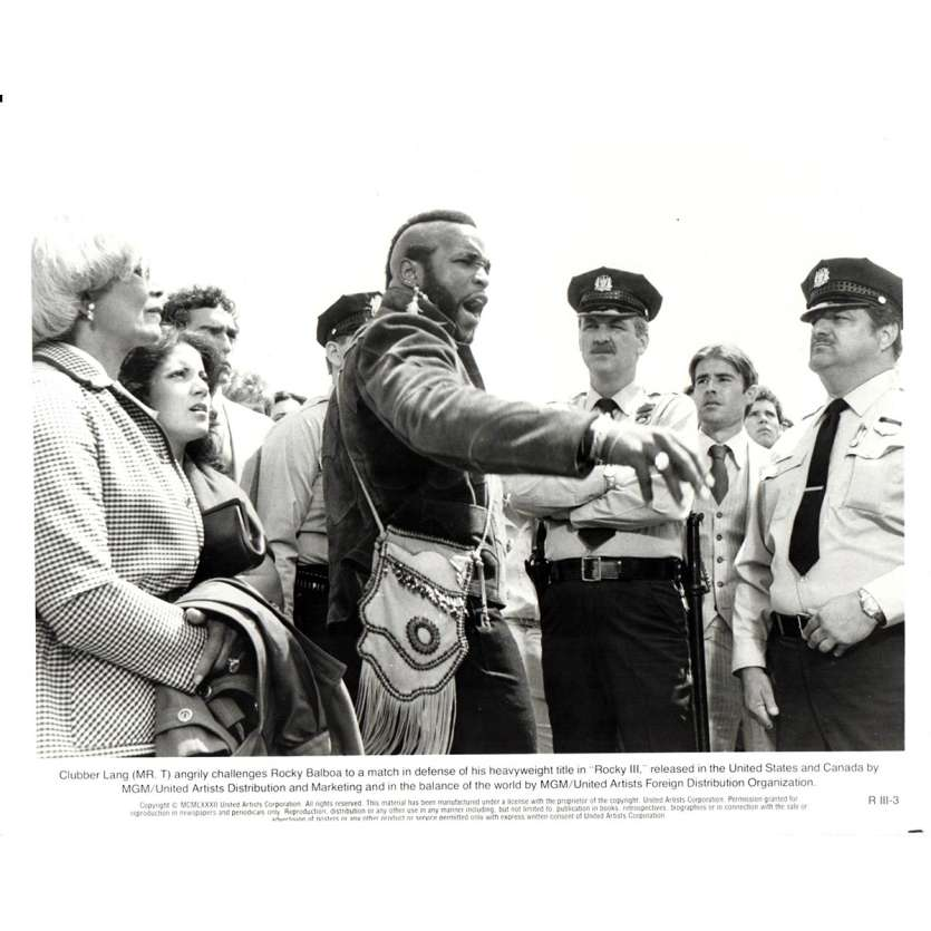 ROCKY 3 Photo de presse N13 20x25 cm - 1982 - Mr. T, Sylvester Stallone
