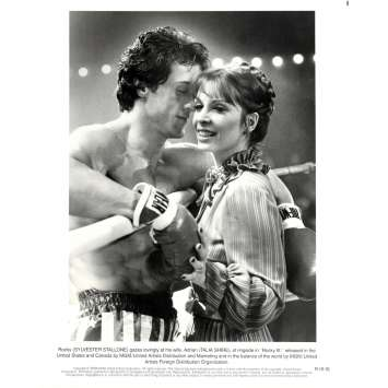 ROCKY 3 Photo de presse N10 20x25 cm - 1982 - Mr. T, Sylvester Stallone