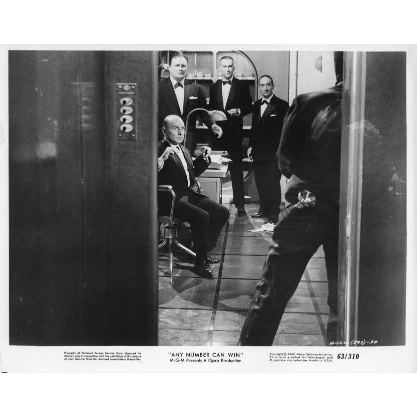 ANY NUMBER CAN WIN Movie Still N10 8x10 in. - 1963 - Henri Verneuil, Alain Delon, Jean Gabin