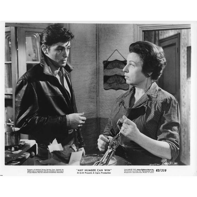 ANY NUMBER CAN WIN Movie Still N02 8x10 in. - 1963 - Henri Verneuil, Alain Delon, Jean Gabin