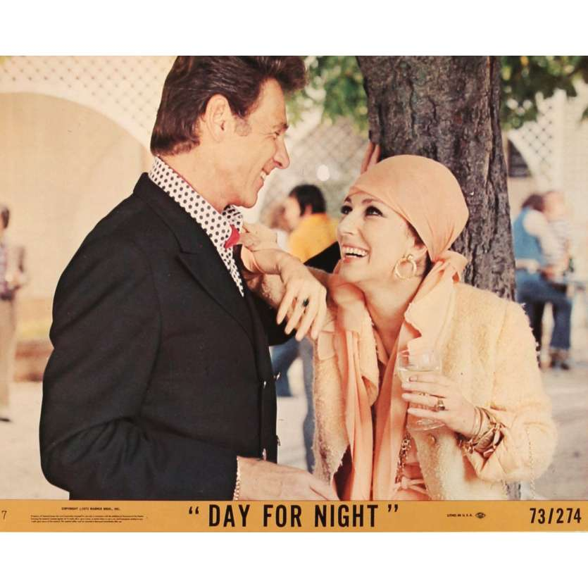 DAY FOR NIGHT Lobby Card N04 8x10 in. - 1974 - François Truffaut, Jacqueline Bisset