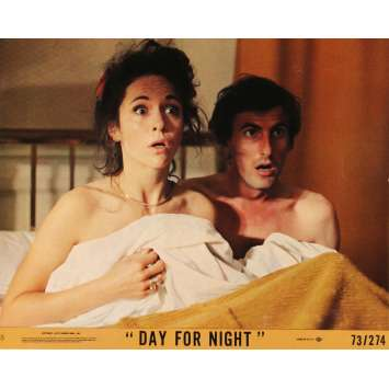 DAY FOR NIGHT Lobby Card N02 8x10 in. - 1974 - François Truffaut, Jacqueline Bisset