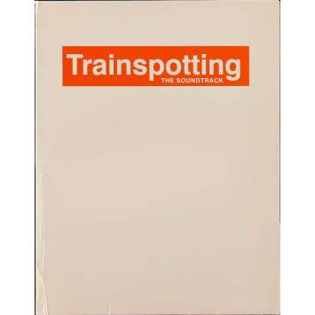 TRAINSPOTTING Pressbook 9x12 in. - 1996 - Danny Boyle, Ewan McGregor