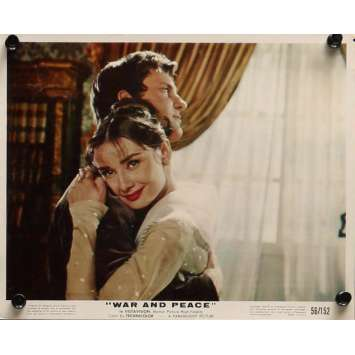 WAR AND PEACE Movie Still 8x10 in. - 1956 - King Vidor, Audrey Hepburn
