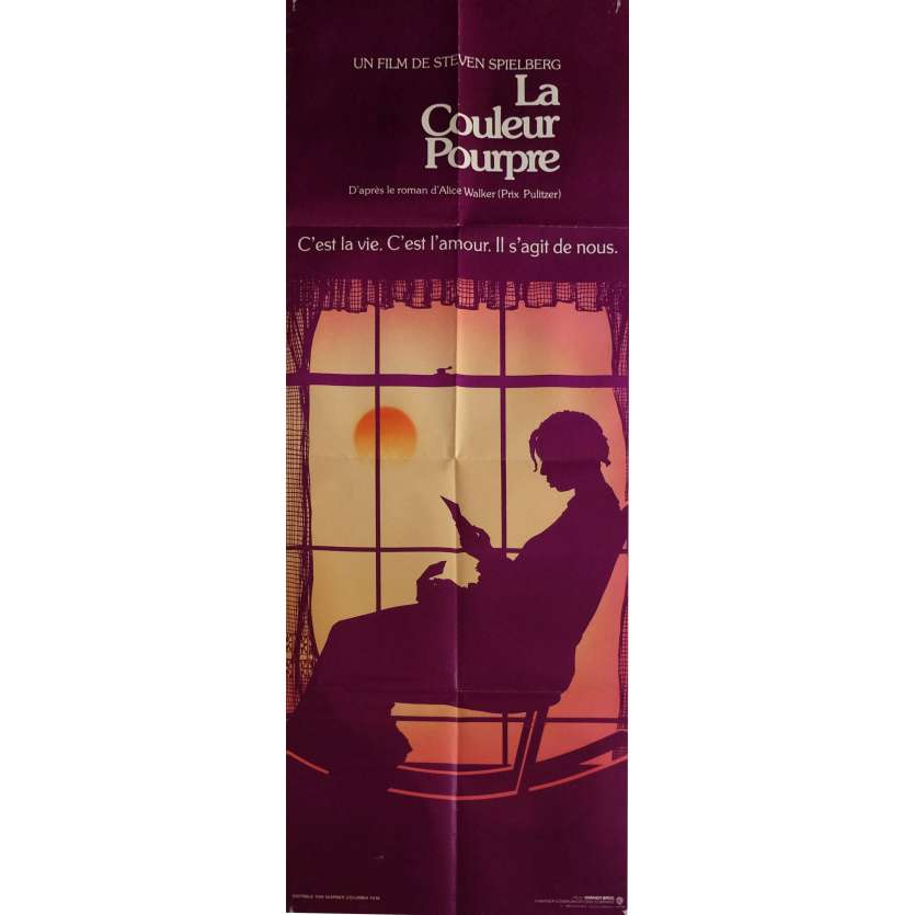 THE COLOR PURPLE Movie Poster 23x63 in. - 1986 - Steven Spielberg, Whoopy Goldberg