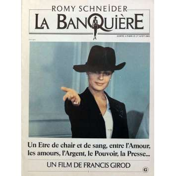 THE LADY BANKER Pressbook 16p 12x15 in. - 1980 - Francis Girod, Romy Schneider
