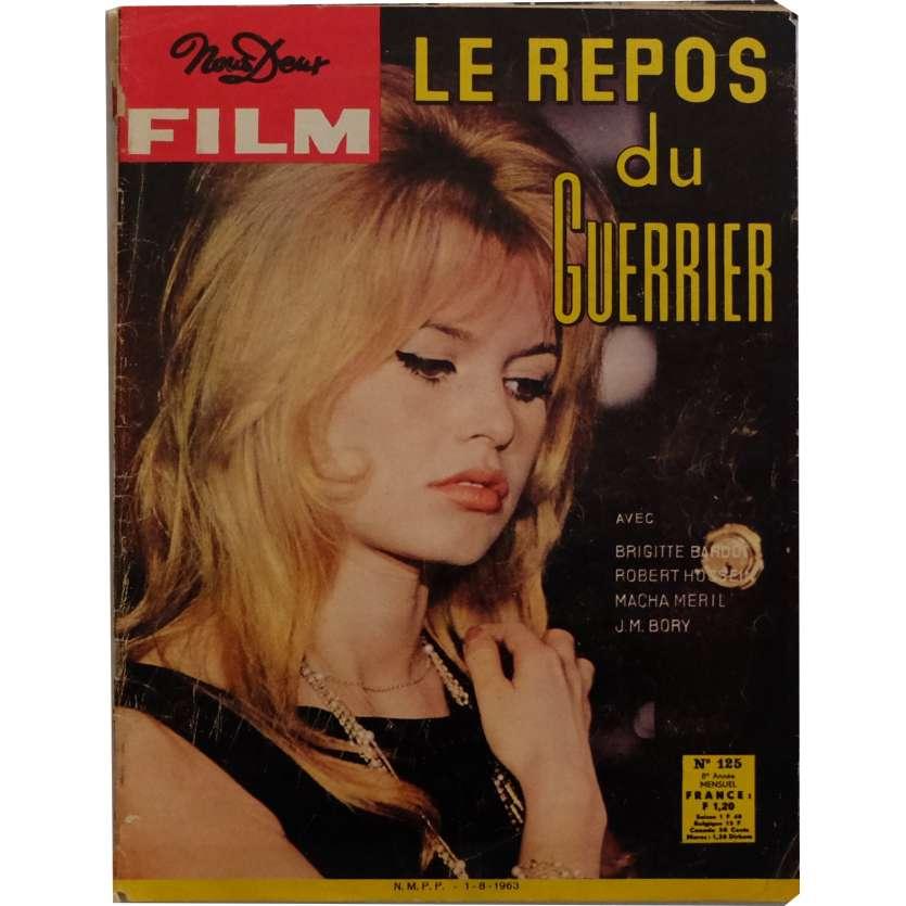 NOUS DEUX FILM - BRIGITTE BARDOT Magazine 9x12 in. - 1960 - Brigitte Bardot, Brigitte Bardot