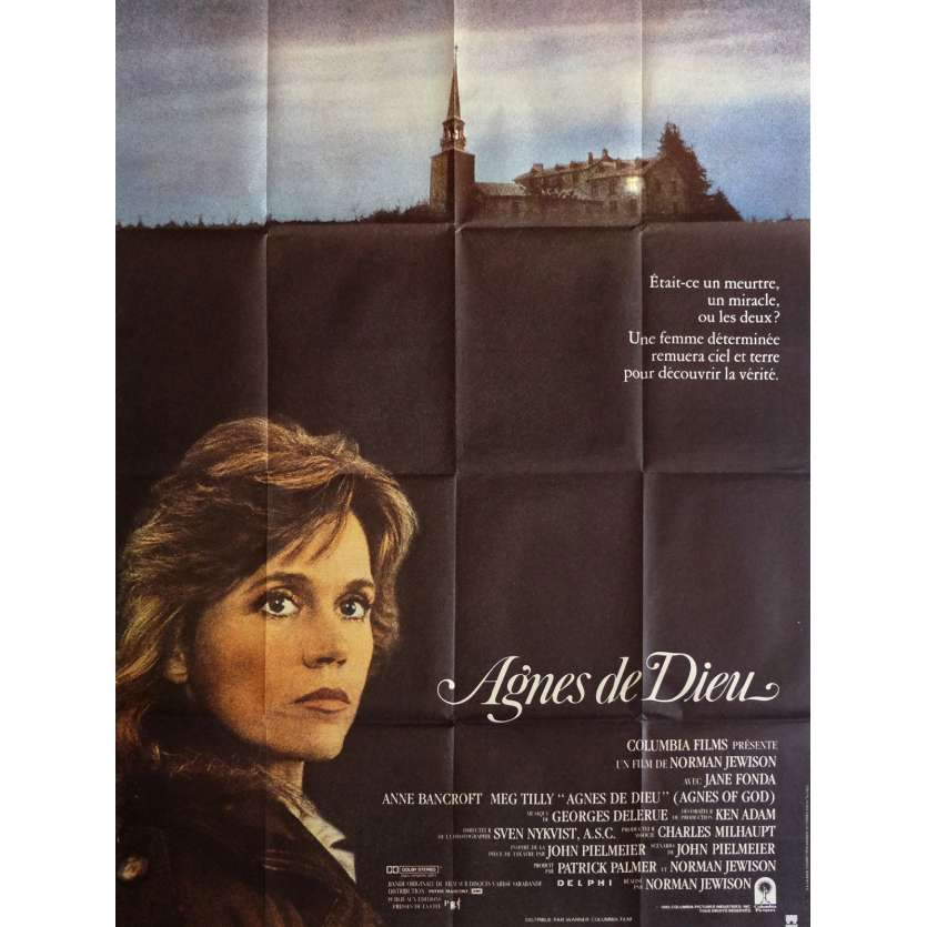 AGNES OF GOD Movie Poster 47x63 in. - 1985 - Norman Jewison, Jane Fonda