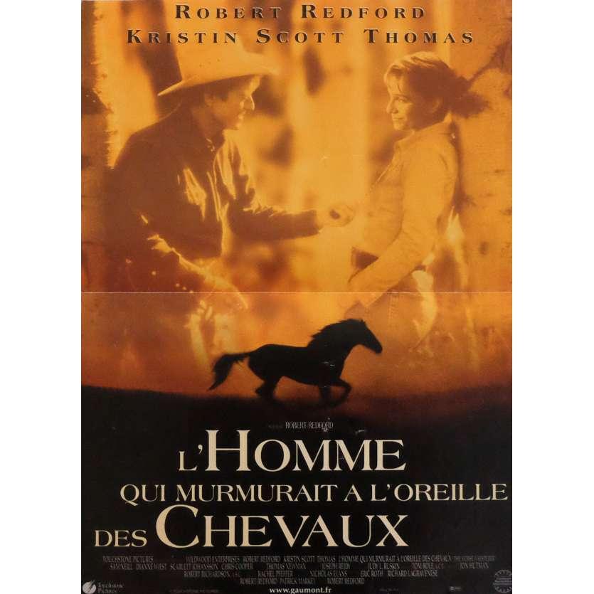 L'HOMME QUI MURMURAIT A L'OREILLE DES CHEVAUX Affiche de film 40x60 cm - 1998 - Sam Neil, Robert Redford