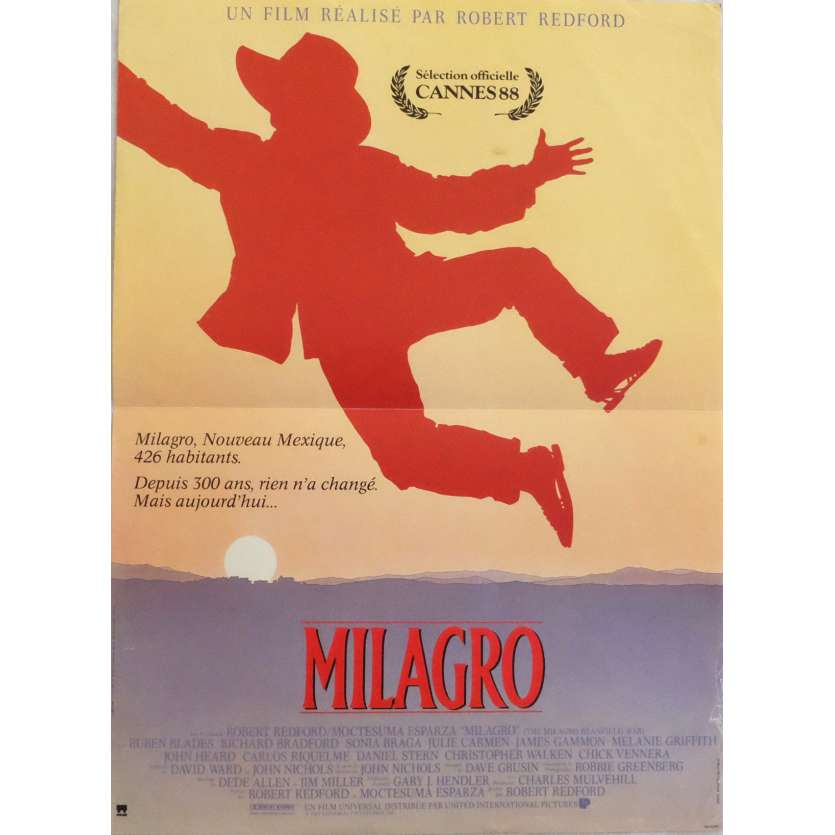 THE MILAGRO BEANFIELD WAR Movie Poster 15x21 in. - 1988 - Robert Redford, Ruben Blades