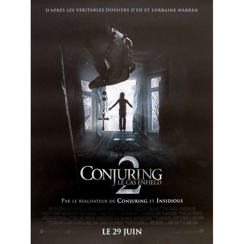 THE CONJURING 2 Affiche de film 40x60 cm - 2016 - Patrick Wilson, James Wan