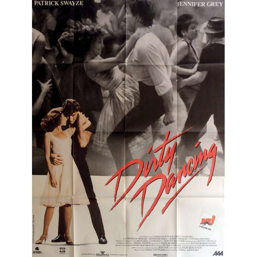 DIRTY DANCING Movie Poster 47x63 in. - 1987 - Emile Ardolino, Patrick Swayze