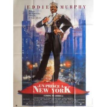 COMMING TO AMERICA Movie Poster 47x63 in. - 1988 - John Landis, Eddie Murphy