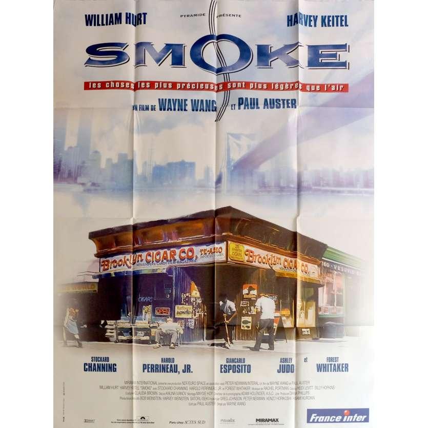 SMOKE Affiche de film 120x160 cm - 1995 - Harvey Keitel, Paul Auster