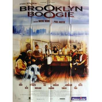 BROOKLYN BOOGIE Affiche de film 120x160 cm - 1995 - Michael J. Fox, Paul Auster