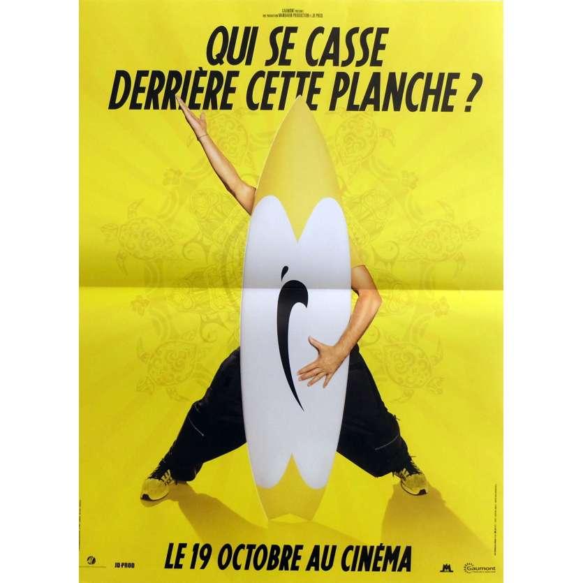 BRICE DE NICE Affiche de film Prev. 40x60 cm - 2005 - Jean Dujardin, James Huth