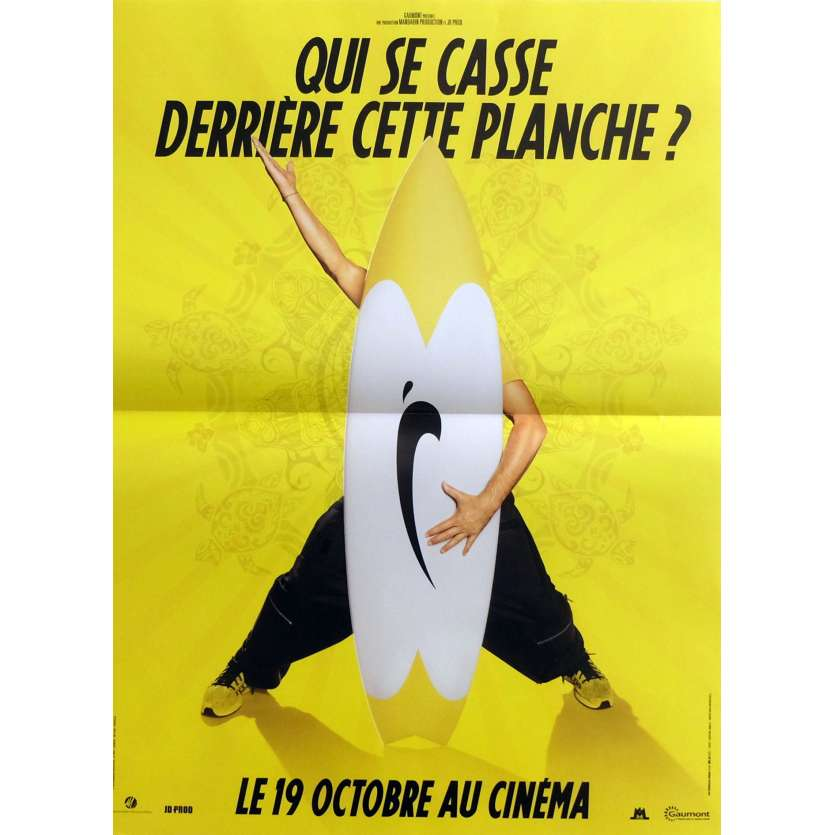 BRICE DE NICE Movie Poster Prev. 15x21 in. - 2005 - James Huth, Jean Dujardin