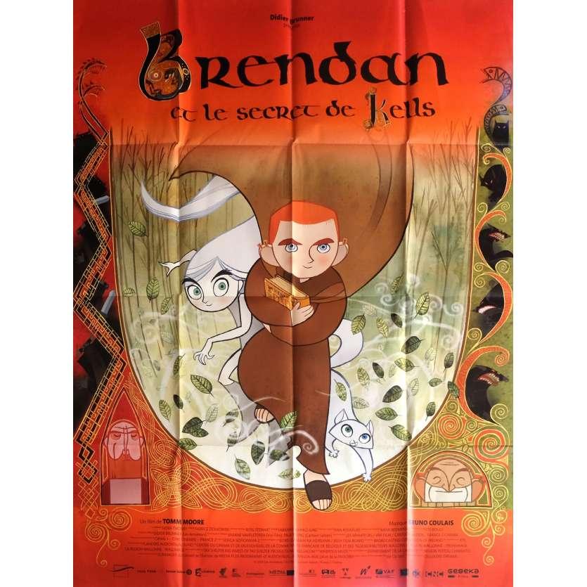 BRENDAN ET LE SECRET DE KELLS Affiche de film 120x160 cm - 2009 - Evan McGuire, Tomm Moore