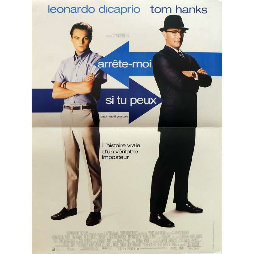 CATCH ME IF YOU CAN Movie Poster 15x21 in. - 2002 - Steven Spielberg, Leonardo DiCaprio