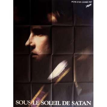 UNDER SATAN'S SUN Movie Poster 47x63 in. - 1987 - Maurice Pialat, Gérard Depardieu