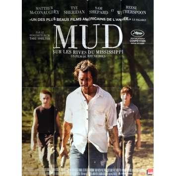 MUD Movie Poster 47x63 in. - 2012 - Jeff Nichols, Matthew McConauguey