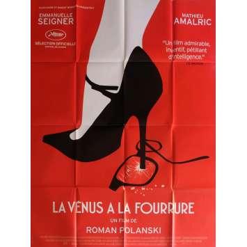 VENUS IN FUR Movie Poster 47x63 in. - 2013 - Roman Polanski, Mathieu Amalric