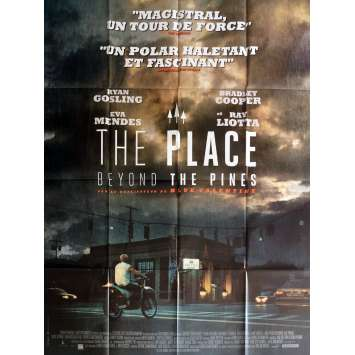 THE PLACE BEYOND THE PINES Movie Poster Prev. 47x63 in. - 2012 - Derek Cianfrance, Ryan Gosling
