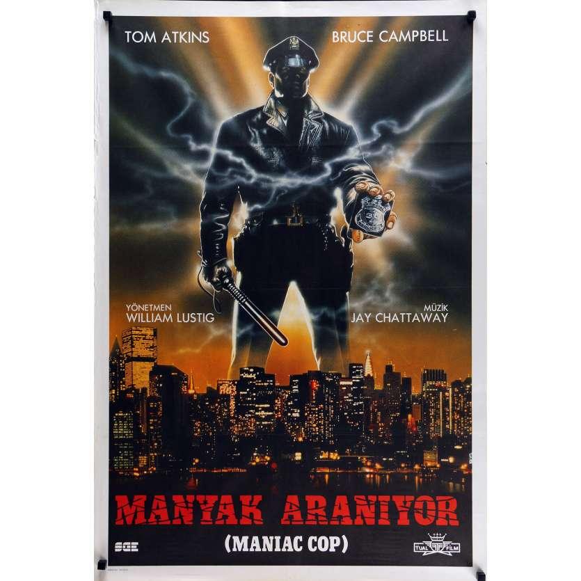 MANIAC COP Affiche de film 70x100 cm - 1988 - Bruce Campbell, William Lustig