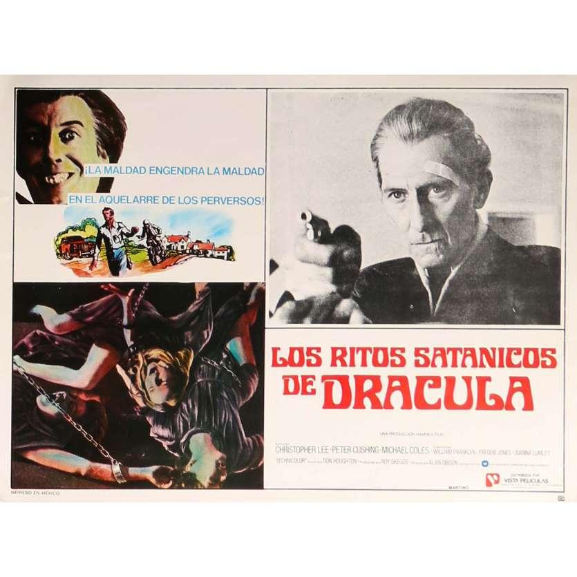 DRACULA VIT TOUJOURS A LONDRES Photo de film N2 32x42 cm - 1973 - Christopher Lee, Alan Gibson